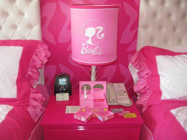 Barbie's bed