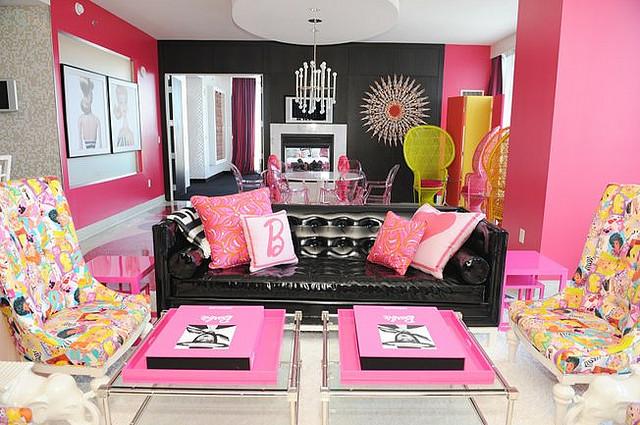 Barbie's living room