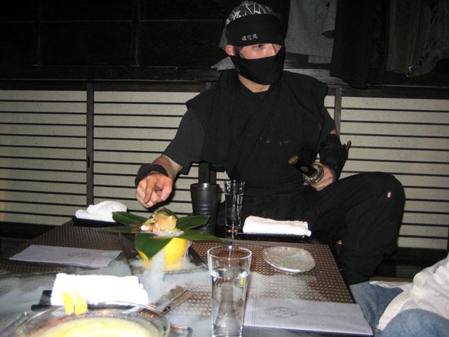 Ninja waiter