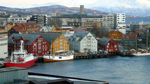 Tromso waterfront