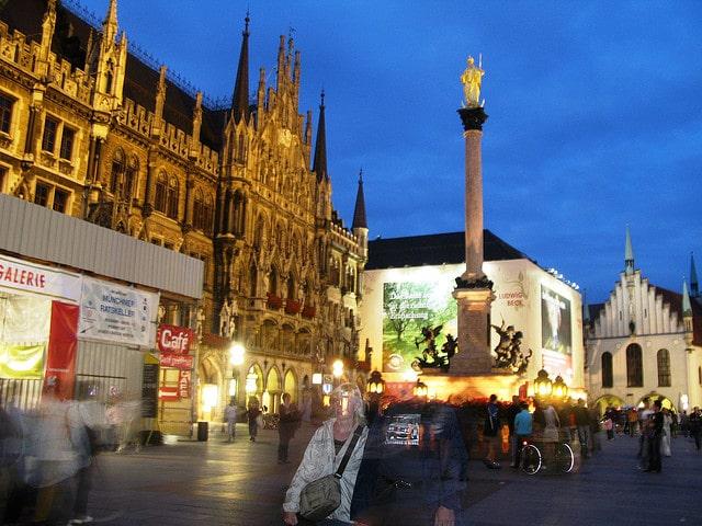 The nightlife of Munich