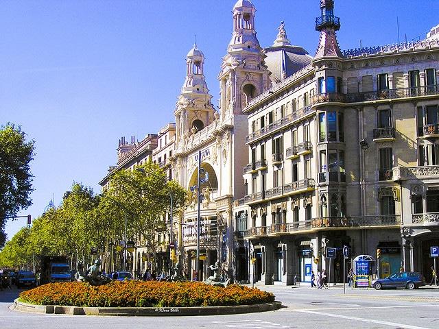 City center, Barcelona-Spain