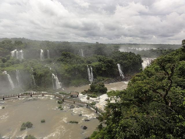 Iguazu. Argentina and Brazil