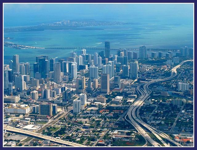 Miami city view-Florida