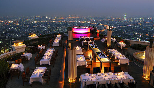 Sirocco restaurant, Bangkok