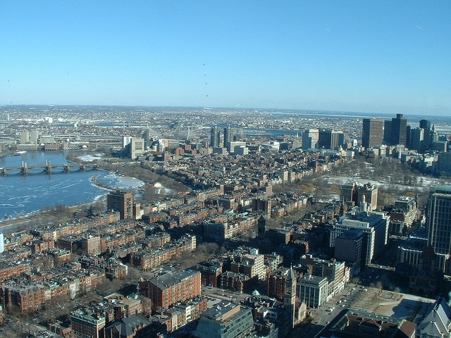 The city of Boston-USA