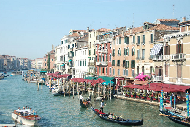 The city of Venice-Italy