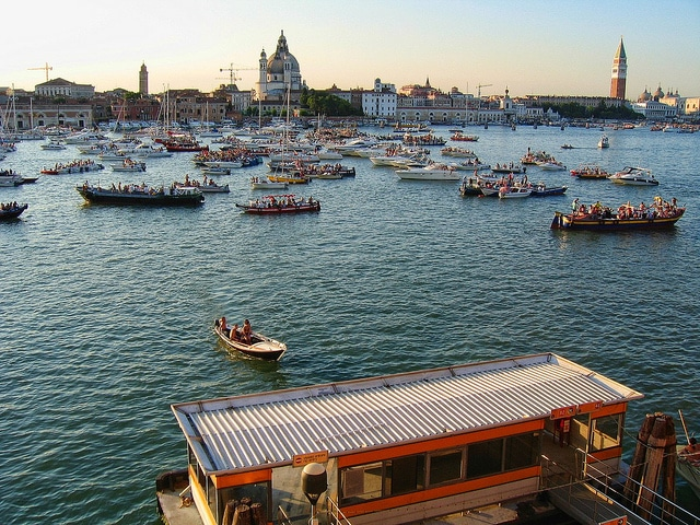 The festival of the Redeemer, Venice-Italy