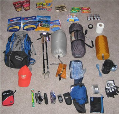 Things you need while backpacking