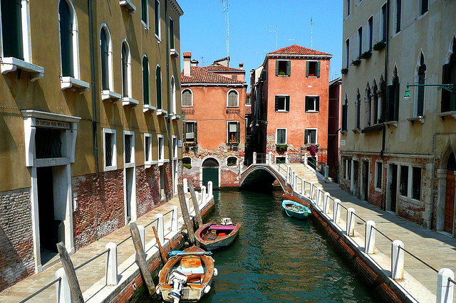Venezia without tourists
