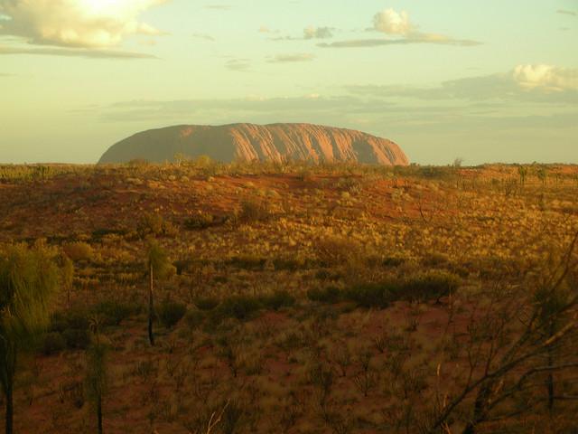 View of Uluru. Australia