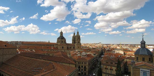 View of the city of Salamanca-Spain