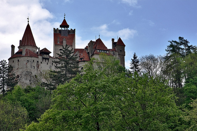 Bran Castle as seen from the south side