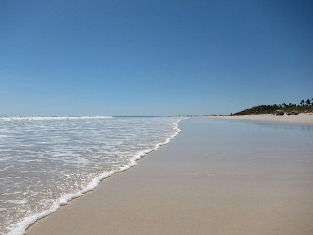 Cable Beach in Australia