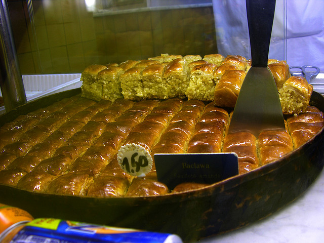 Greek Desserts Baclawa