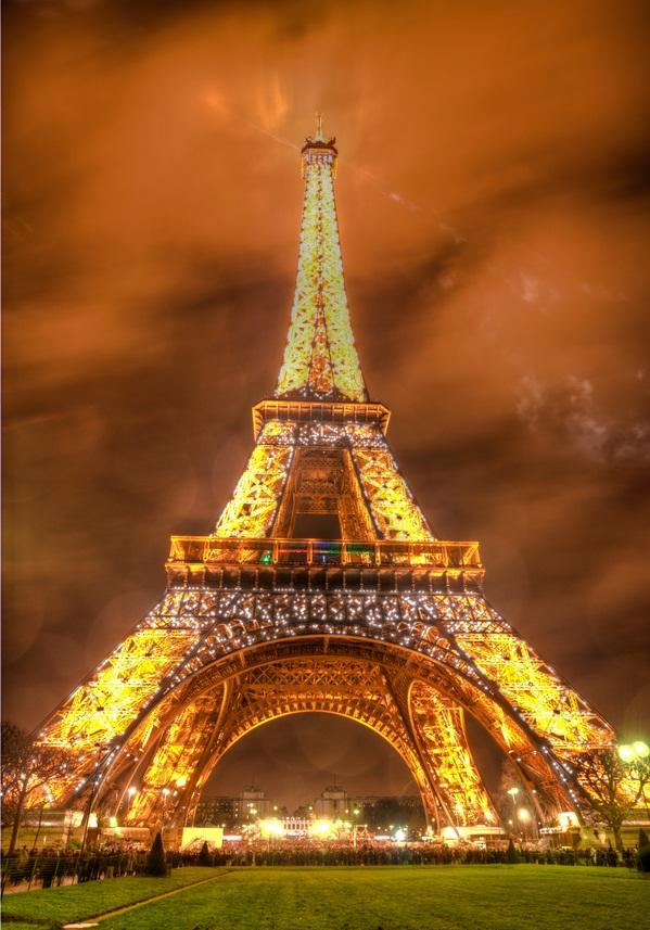 New Years Eiffel Tower 2