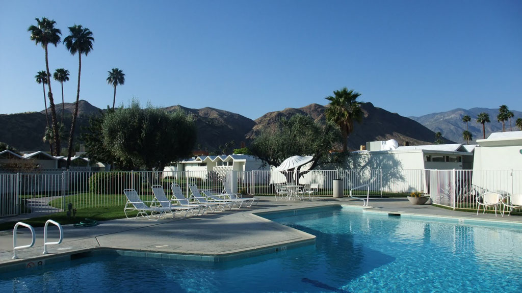 Palm Springs bed and breakfast, California