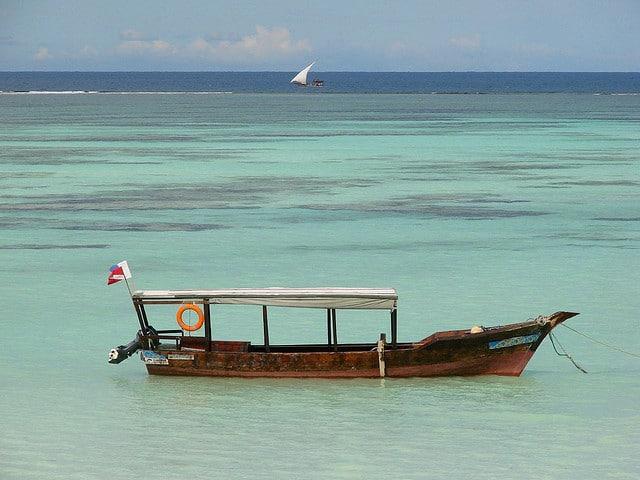 Ras Nungwi in Zanzibar