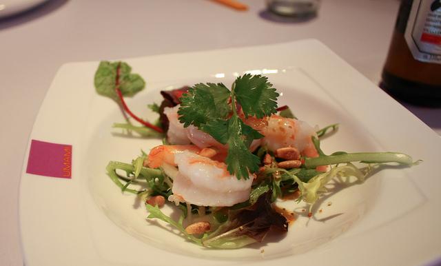 Thai Cousine Garnalen Salade