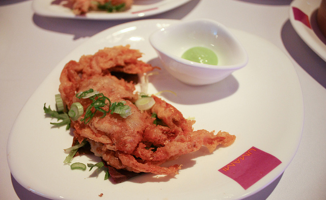 Thai Cousine soft shell crab