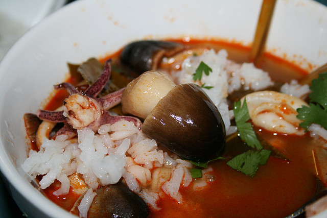 Thai cousine Tom Yum Talay