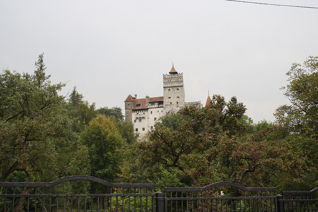 The castle of Count Dracula in Romania