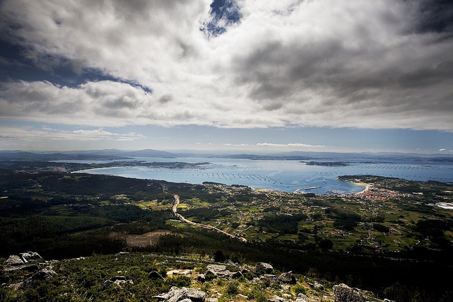 Galicia from above