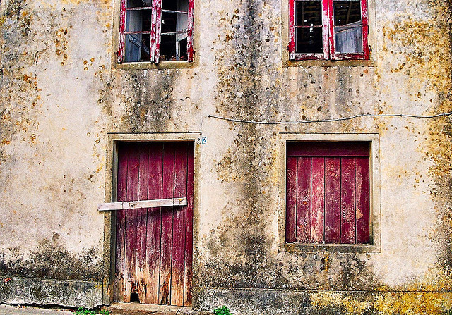Old houses in Galicia