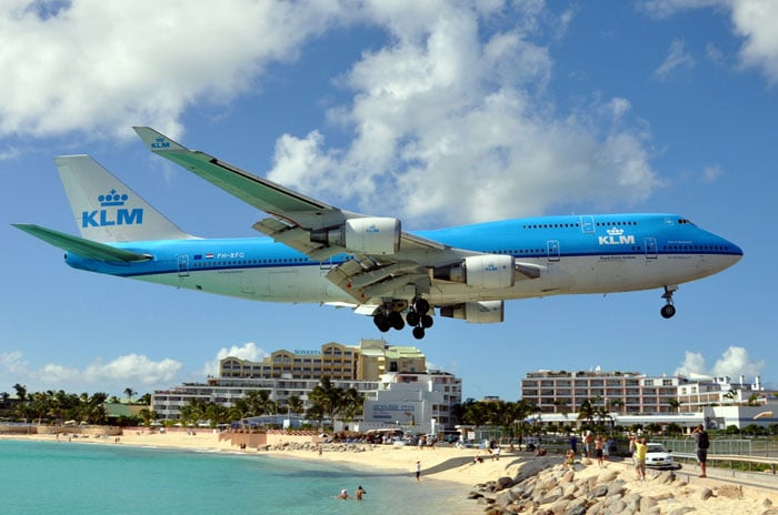 Princess Juliana Airport, Saint Martin