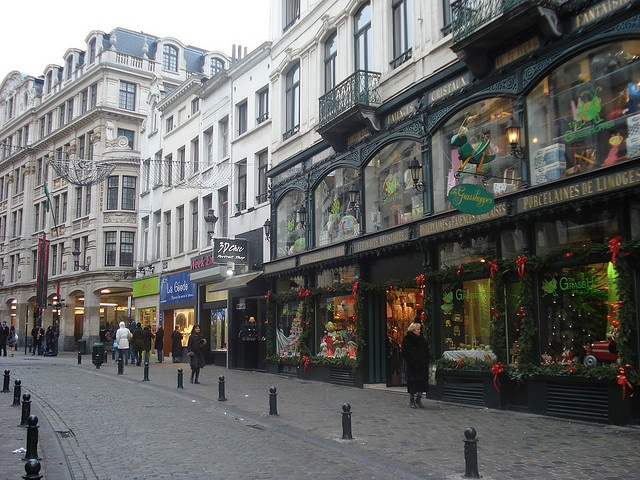 Shopping in Brussels, Belgium