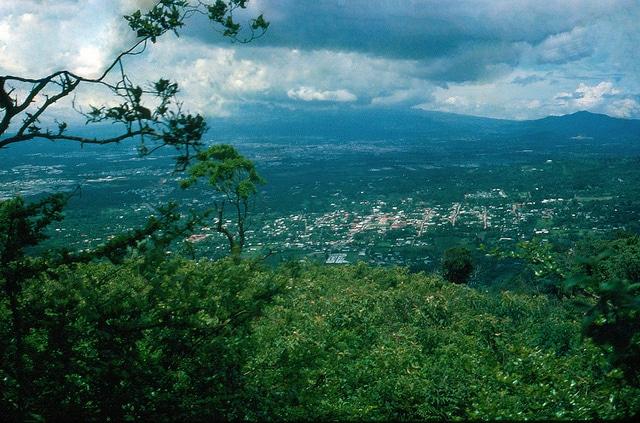 View of San Jose in Costa Rica