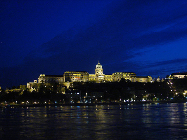 Goodnight from Budapest