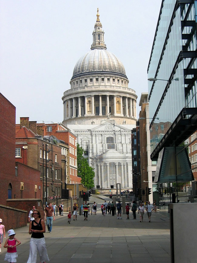 St. Paul's Cathedral, London.