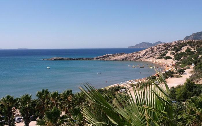 Paradise Beach in Kefalos, Kos.