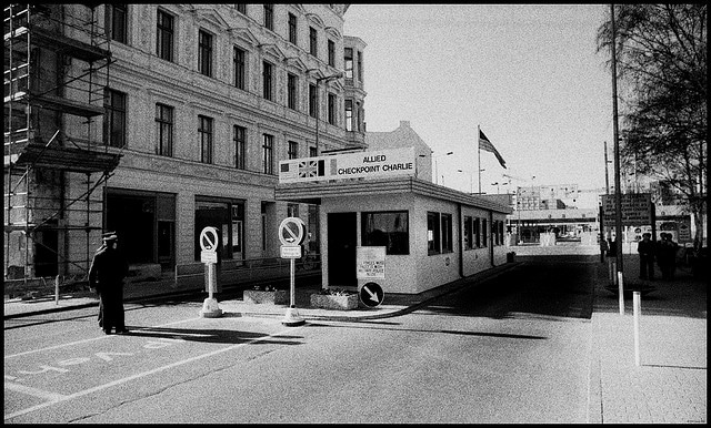 Checkpoint Charlie, Berlin 1988
