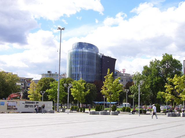 Downtown Skopje