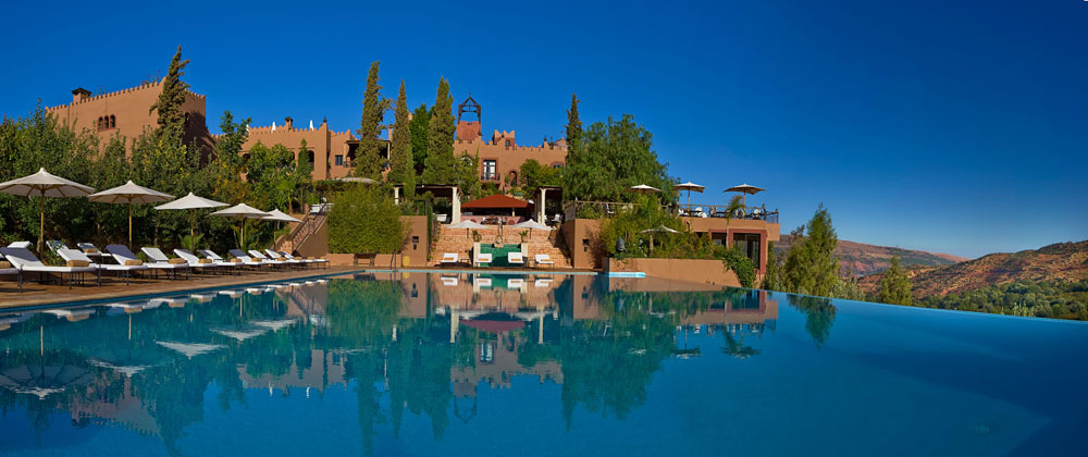 Kasbah Tamadot pool