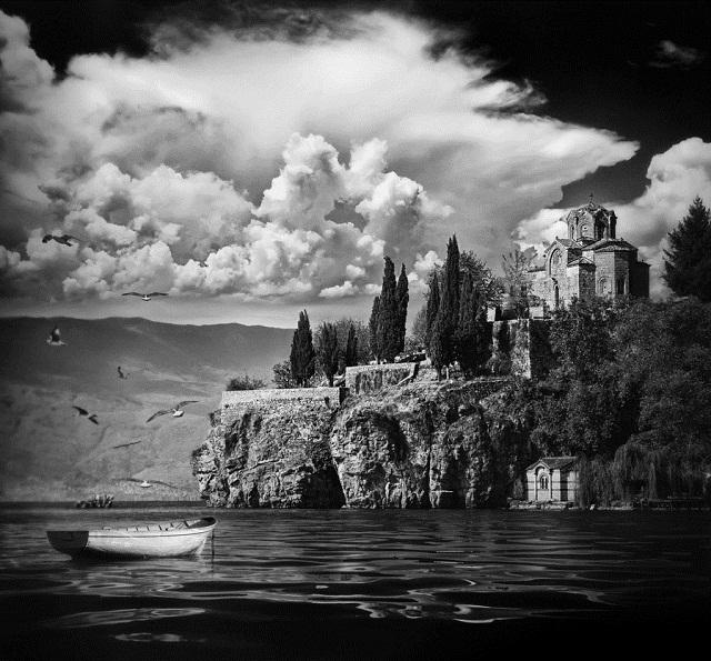 Lake Ohrid boat