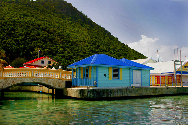 Taken from the Water taxi in St. Maarten