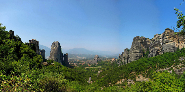 A view of Meteora