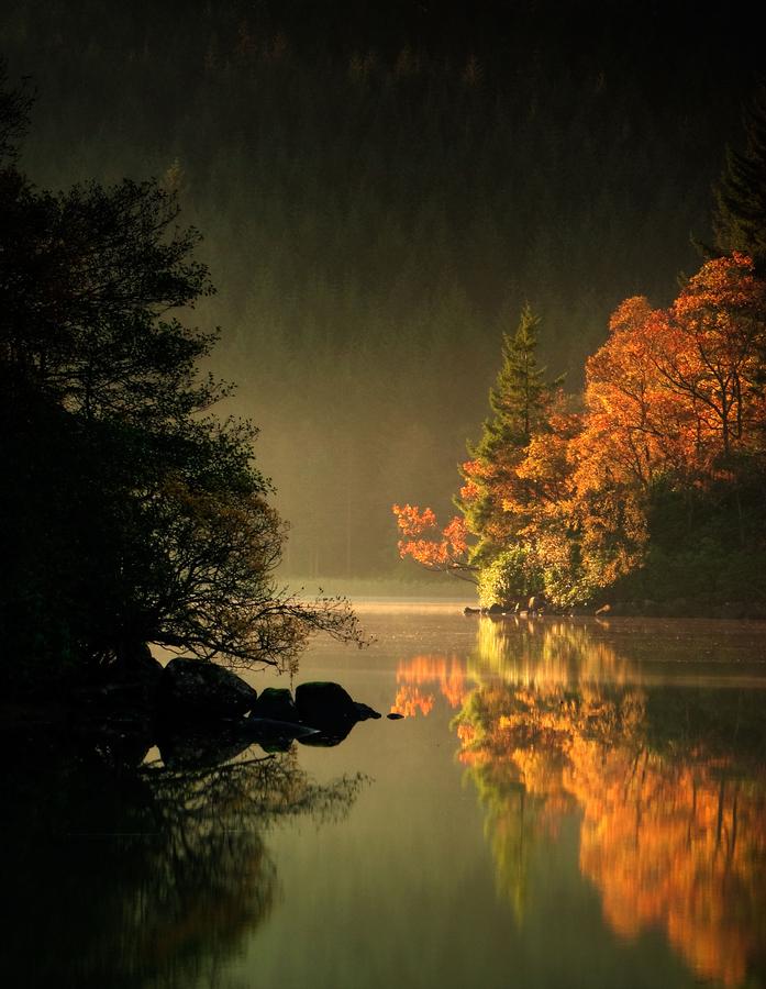 Loch Ard Autumn Light