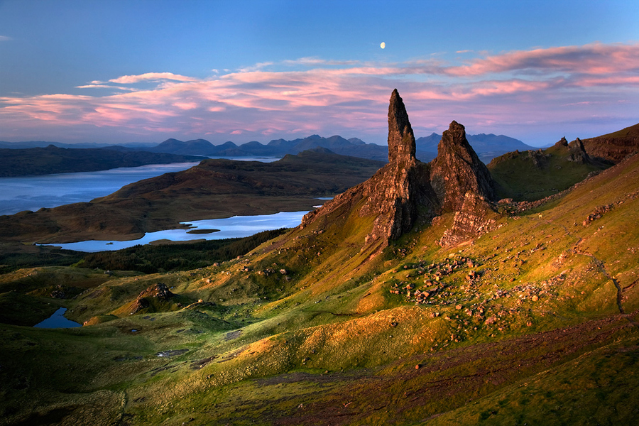 The geology of the Trotternish Ridge on the Isle of Skye is absolutely fascinating