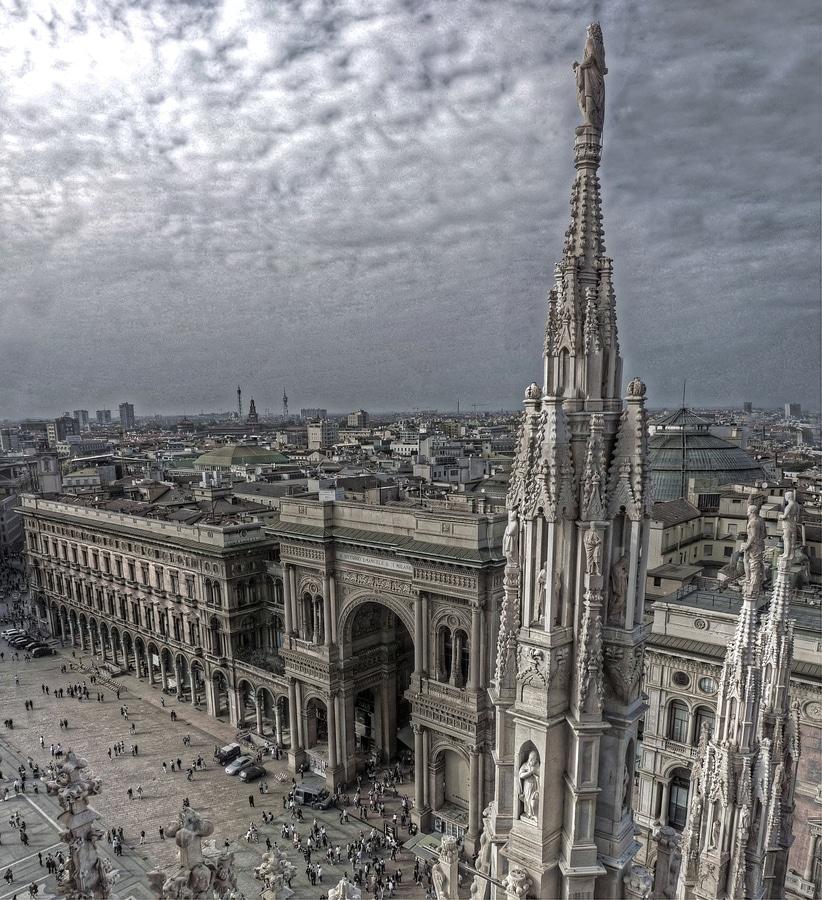 Above Plaza del Duomo