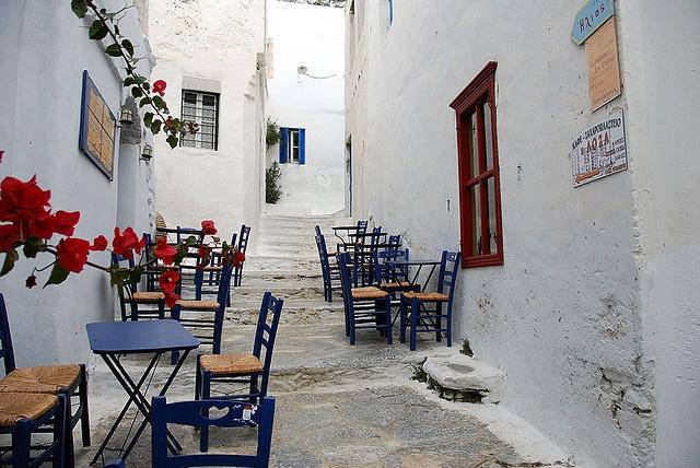Amorgos streets