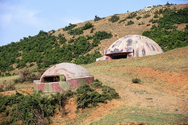 Albania: Bunkers from the Cold War
