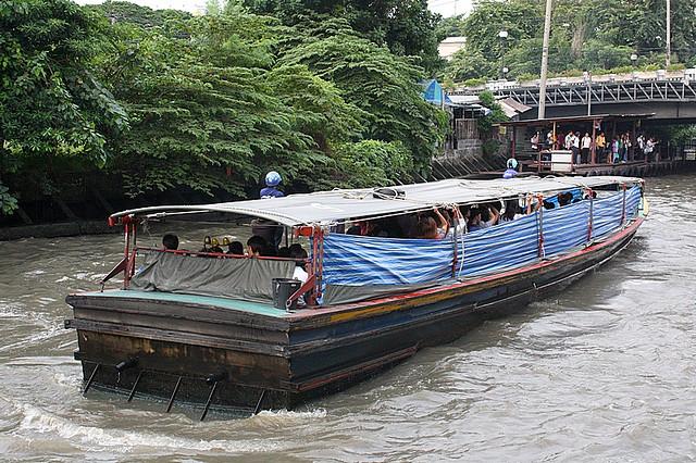 Bangkok, Khlong Saen Saep