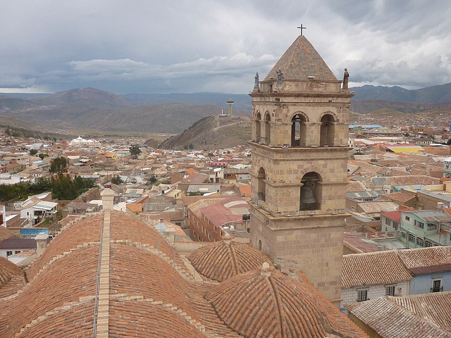 City of Potosi in Bolivia