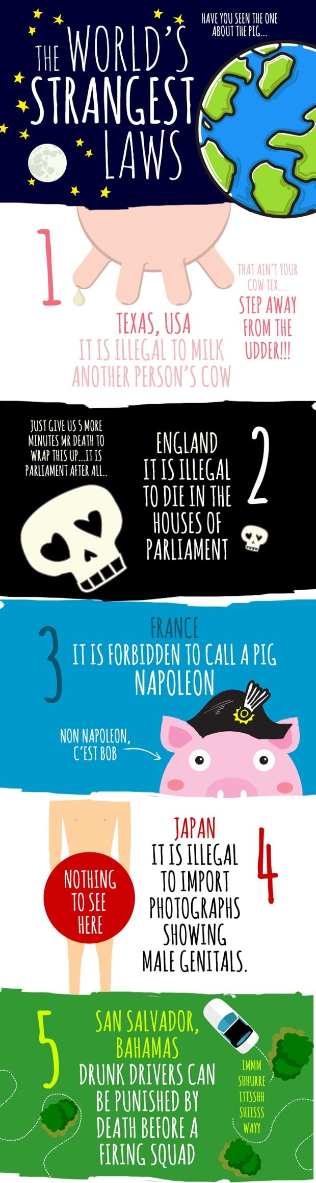 The strangest laws around the world