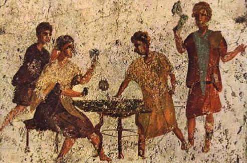 Ancient Beer Drinkers