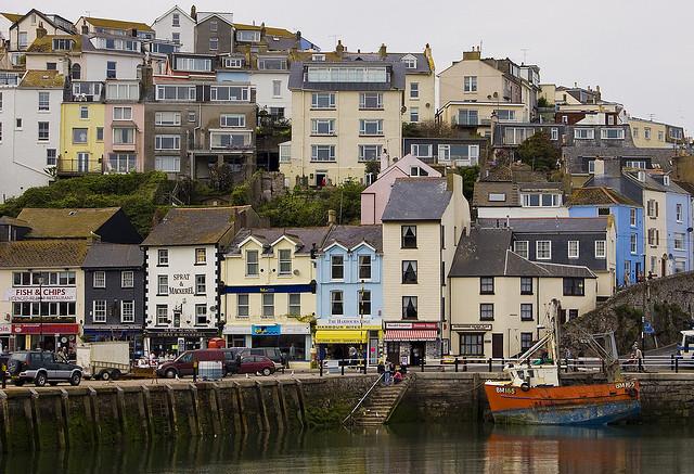 Brixham, Devon, UK.